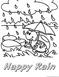123 coloring pages rain monsoon coloring pages