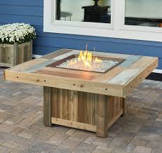 outdoor greatroom fire table the outdoor greatroom company vintage gas fire pit table reviews