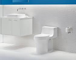 Kohler Bidet Toilet Seats Kohler San Souci K 4000 Touchless Comfort Height One Piece Compact