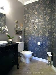 wallpaper bathroom ideas wallpaper for the bathroom northlight co