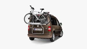 si e confort pour caddie bicycle carrier for caddy tailgate three bicycles 2k0071104a