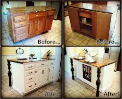 Kitchen Island Top Ideas by Kitchen Chocolate Themed Diy Kitchen Island With Granite Top Feat