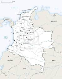 Map Of Colombia Vector Map Of Colombia Political One Stop Map