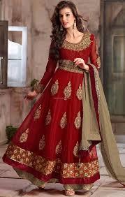 buy new fashion salwar kameez beautiful anarkali dress boutique