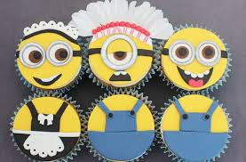 minion cupcakes despicable me inspired minion cupcakes