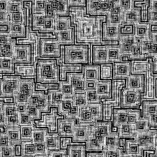 bump map aged woven circuit bump map