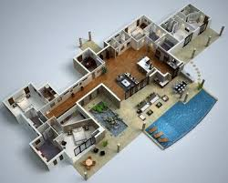 modern floor plan 3d floor plans modern floor plan too many dreams for a dream house