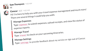 Business Trip Expense Report Template collaborative design sprint leads to new bot for slack beta concur
