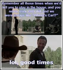 Walking Dead Memes Season 3 - walking dead carl meme season 3 image memes at relatably com