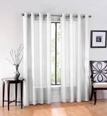 Semi Sheer Curtains 96 Inch Semi Sheer Curtains Effective Sheer White Curtains