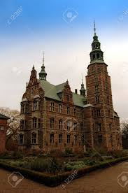 rosenborg is one of the most beautiful castles in denmark stock