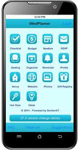 wedding planner apps iwedplanner best wedding apps