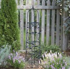 metal garden trellis tomato vine tower lawn ornament climbing
