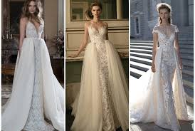 wedding dress with detachable weddingglam detachable wedding gowns are so 2016 360nobs com