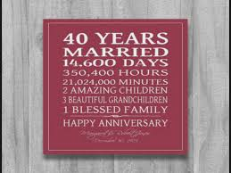 40th wedding anniversary gift ideas 8 moments to remember from 8th wedding anniversary gift