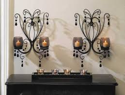 Decorative Wall Sconces Decorative Wall Sconces Candle Holders Home Interior U0026 Exterior