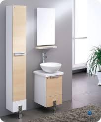 Walnut Bathroom Vanity by Fresca Adour 16 Inch Modern Wall Mount Bathroom Vanity Light Walnut