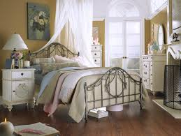 shabby chic bedroom sets white theme vintage master design two
