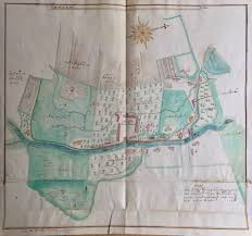 The Domain Map Cadastral Maps Of The Domains Of The Hochberg Family In Lower