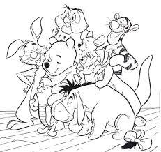 365 winnie pooh u0027s coloring images