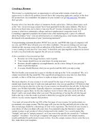 Strong Resume Summary Download Effective Resume Objective Statements
