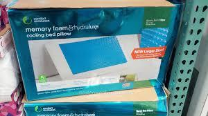 memory foam bed pillows luxurious comfort revolution hydraluxe gel memory foam bed pillow