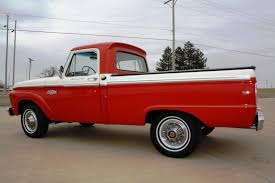 Classic Ford Truck Beds - 1966 ford f100 1 2 ton short wide bed custom cab pickup truck