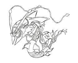 rayquaza coloring pages download print free coloring pages