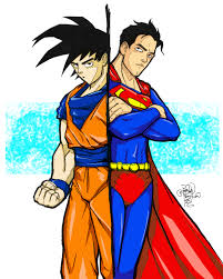 goku superman color sykoeent deviantart