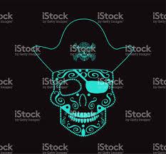 skull vector pirate ornament stock vector 661440304 istock