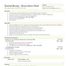 Resume Sous Chef Sous Chef Resume Examples Resume Examples And Free Resume Builder