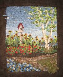 pictorial rug hooking kit available in limited quantities u2022 cindi