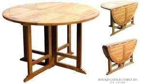 Table Patio Folding Gateleg Table Folding Table Marvelous Patio Table And
