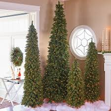pre lit carolina entryway tree christmas decor 4 u0027 improvements