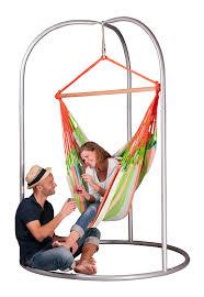 Hammock Swing With Stand Amazon Com La Siesta Domingo Coral Weatherproof Lounger