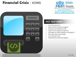 financial crisis icons powerpoint presentation slides ppt templates