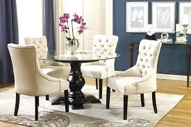 Tufted Dining Chair Set Charming Grey Tufted Dining Chair Beautiful Gray Dining With Black