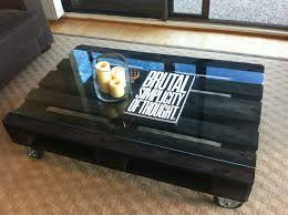 the condi custom made to order ebony stained coffee table made