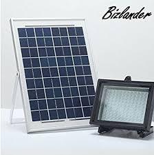 diy solar flood light amazon com bizlander 2018 new commercial grade solar flood light