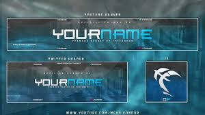 new youtube banner template download free logo banner