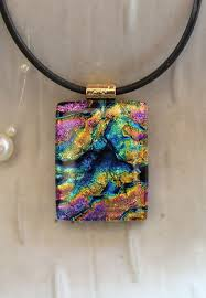 glass jewelry necklace images 28 best dichroic and fused glass jewelry images jpg