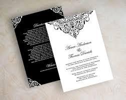 formal wedding invitations formal wedding invitations kawaiitheo