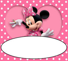 A Birthday Invitation Card Minnie Mouse Birthday Invitation Kawaiitheo Com