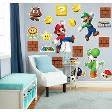 Super Mario Home Decor Super Mario Bros Mario Pictures Of Photo Albums Super Mario Wall