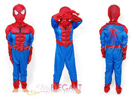 Boys Kids Halloween Costumes Disney Marvel Spider Man 2 Muscle Deluxe Boys Kids Halloween