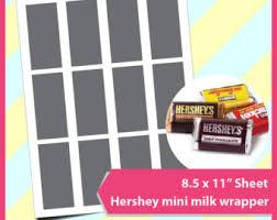 hershey mini bar etsy