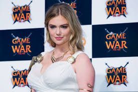 kate upton pics leaked kate upton at game of war fire age promotion in busan