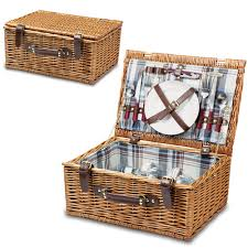 picnic basket set for 2 picnic for two crafthubs