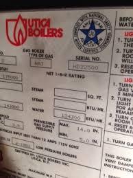 utica gas boiler pilot light utica boiler m 175 agb won t run suspect gas control valve