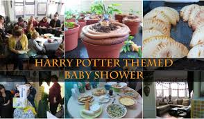 themed baby shower chic events harry potter themed baby shower fashionably nerdy